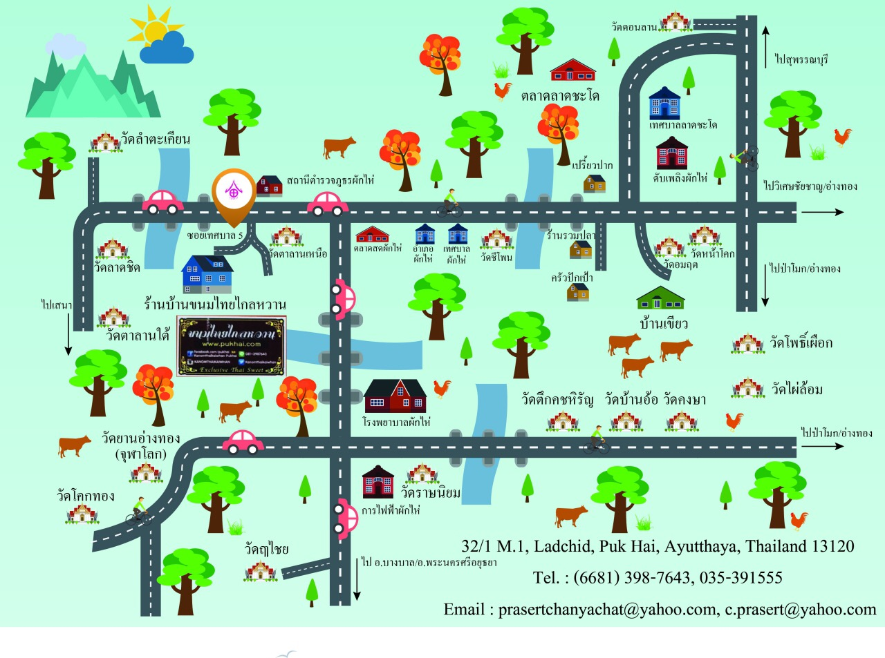Pukhai Exclusive Home Stay-Map